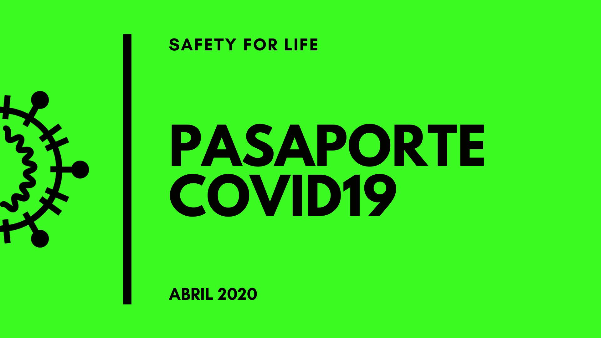 Pasaporte Covid19